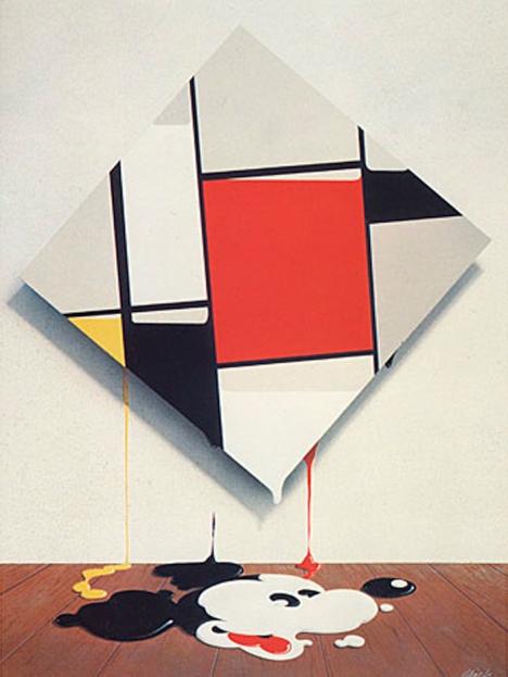 Mickey-Mondrian