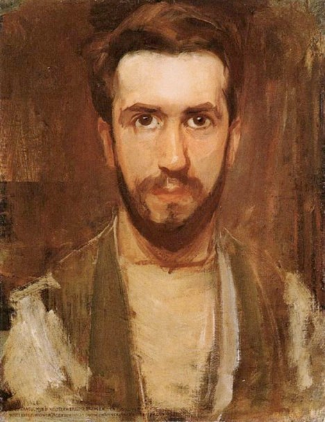 Piet_Mondrian_Self_Portrait